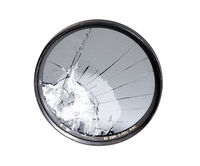 Broken circular polarizing filter