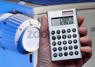 Taschenrechner und Heizung