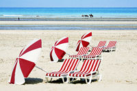 the beach from De Panne, Belgium