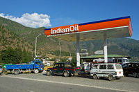 Tankstelle der Indian Oil Corporation