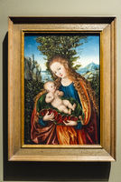 Mary with child, Lucas Cranach the Elder