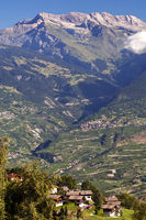 View from Haute-Nendaz across the Rhone Valley