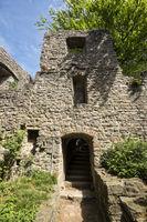 Schloss Hohenbaden auf dem Battert bei Baden-Baden