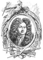 Admiral of the Fleet Sir Cloudesley Shovell, 1650-1707