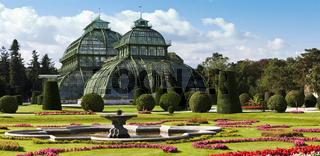 Palmenhaus at the imperial garden of Schönbrunn