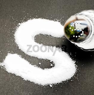 Salzsteuer und Salz als S