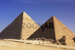 Great Pyramids of Giza, Cairo
