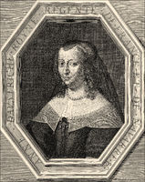 Anne of Austria, 1601-1666, queen consort of France
