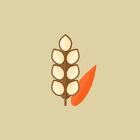 Grain. Food Flat Icon