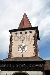 kirche in gengenbach/schwarzwald