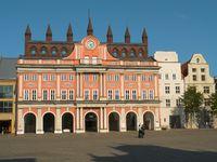 City Hall In Rostock