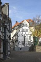 Buildings in Hattingen, Germany