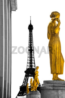 Paris Eiffelturm Wahrzeichen