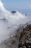 fog in the mountains on La Palma