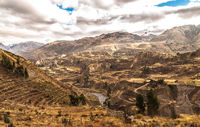 Colca Canyon View Panorama