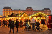 Christmas market Darmstadt
