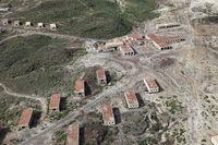 Luftaufnahme Leprastation bei Abades, Teneriffa