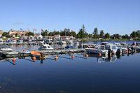 The Harnosands Marina