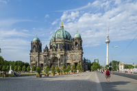 The Berlin Dom and TV tower