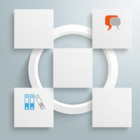 Square Design 5 Pieces PiAd