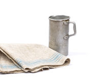 Messbecher und Leinentuch - Graduated jug and linen