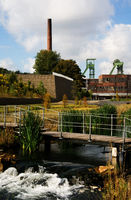 Water Garden Reden Mine, Schiffweiler, Germany