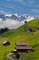 Scattered hamlet in the Swiss Prealps