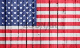 The USA flag