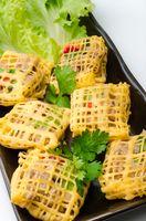 Thai snacks known as