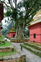 Hindu temple in Kathmandu Valley