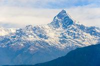 The Machhapuchhre in the Annapurna region