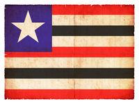 Grunge flag of Maranhao (Brazil)