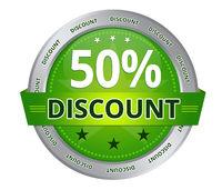 50 percent Discount
