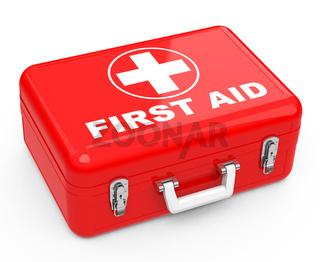 the first-aid box