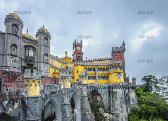 Pena palace, Sintra, Portugal