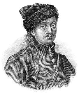 Miklós Zrínyi or Nikola Zrinski, 1620 - 1664, a Croatian and Hungarian military leader, statesman and poet