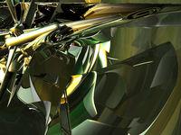 futuristischer hintergrund - 3d illustration