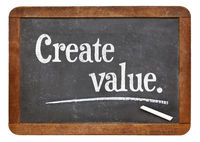 create value on blackboard