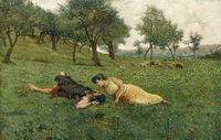 Spring idyll in ancient Greece