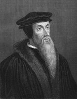 Johannes Calvin, 1509 - 1564, French-born reformer and founder of Calvinism