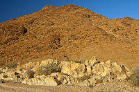 Wild desert-like landscape in the Richtersveld
