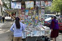 Zeitungskiosk in Almaty