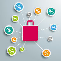 Percentage Shopping Bag PiAd