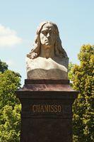 Monument Adelbert von Chamisso Berlin Germany