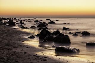 Findlinge an der Ostseeküste
