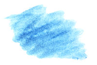 Watercolor brush strokes
