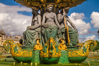 Fontaines de la Concorde, Paris, France