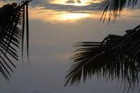 farbenprächtiger Hmmel kurz vor Sonnenuntergang,  Lovina Beach, Nordbali, Bali, Indonesien