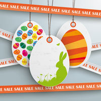 Sale Sticker Lines White Price Sticker Easter Offer PiAd