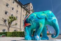 Colourful elephant in Copenhagen